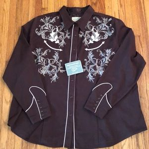 Roper Woman's Old West Classic Shirt 3X NWT